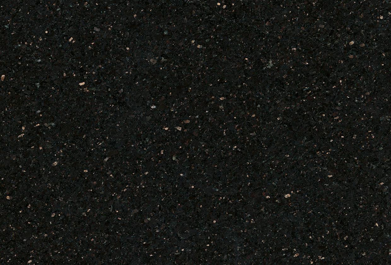 Zeitlose Küchenzeile Glas, Naturstein Star Galaxy - Marquardt Küchen