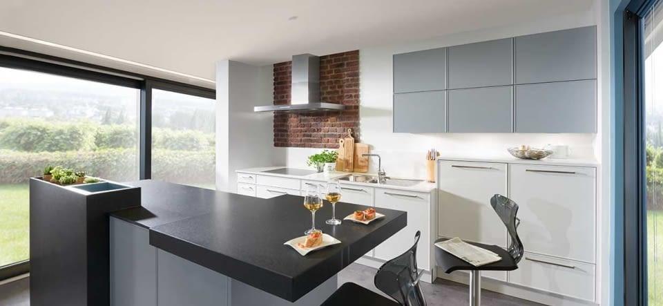 2-Zeilen-Küche – Marquardt Küchen