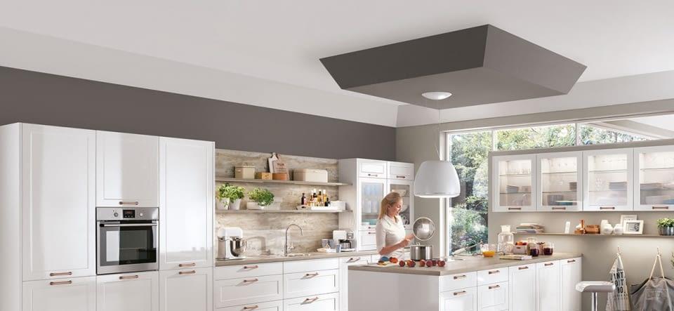 2 zeilen landhausk che elegance wei mit work marquardt k chen. Black Bedroom Furniture Sets. Home Design Ideas