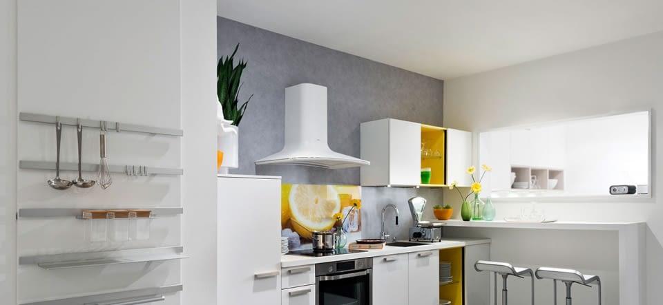 Küchenzeile Mit Granit ~ zeile lux lack magma mit spa molino