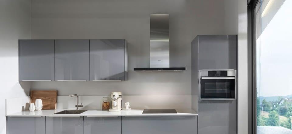 Zeitlose Küchezeile Vetra In Glas Weiß Marquardt Küchen