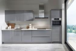 k chenzeile focus mineralgrau mit bianco papiro marquardt k chen. Black Bedroom Furniture Sets. Home Design Ideas