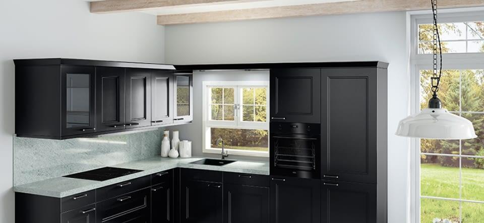 l k che eiche wei und basalt mit breccia imperiale. Black Bedroom Furniture Sets. Home Design Ideas