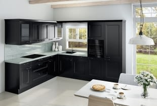 landhausk chen individuell charmant mit granit marquardt k chen. Black Bedroom Furniture Sets. Home Design Ideas
