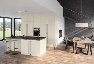 Stylische Designküche, Die Sich Nahtlos In Ihren Wohnraum Integrieren  Lässt. Neben Vielen Stauraummöglichkeiten Und Exklusivem Naturstein  Erwarten Sie Zudem ...