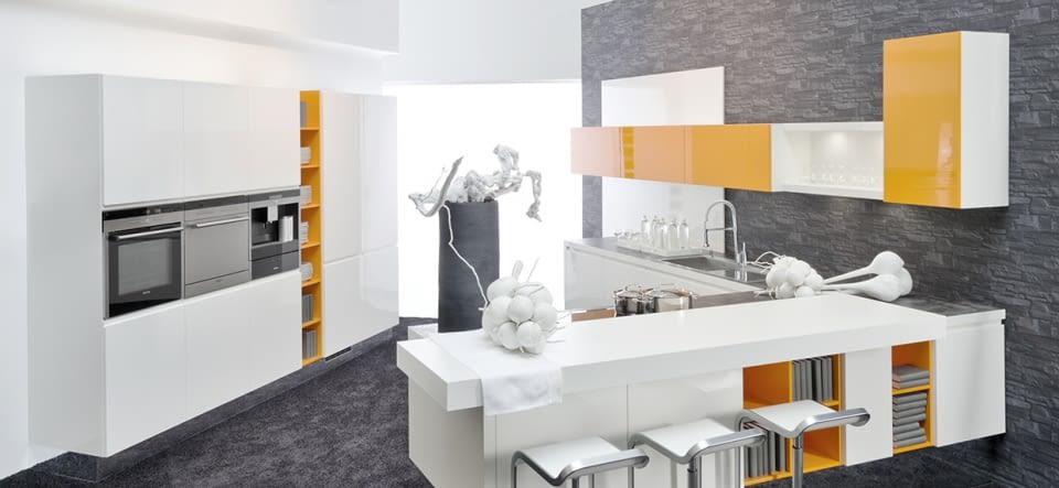 weiße marmor küchen – 75 ideen für den einsatz von marmor - 2015, Wohnzimmer dekoo