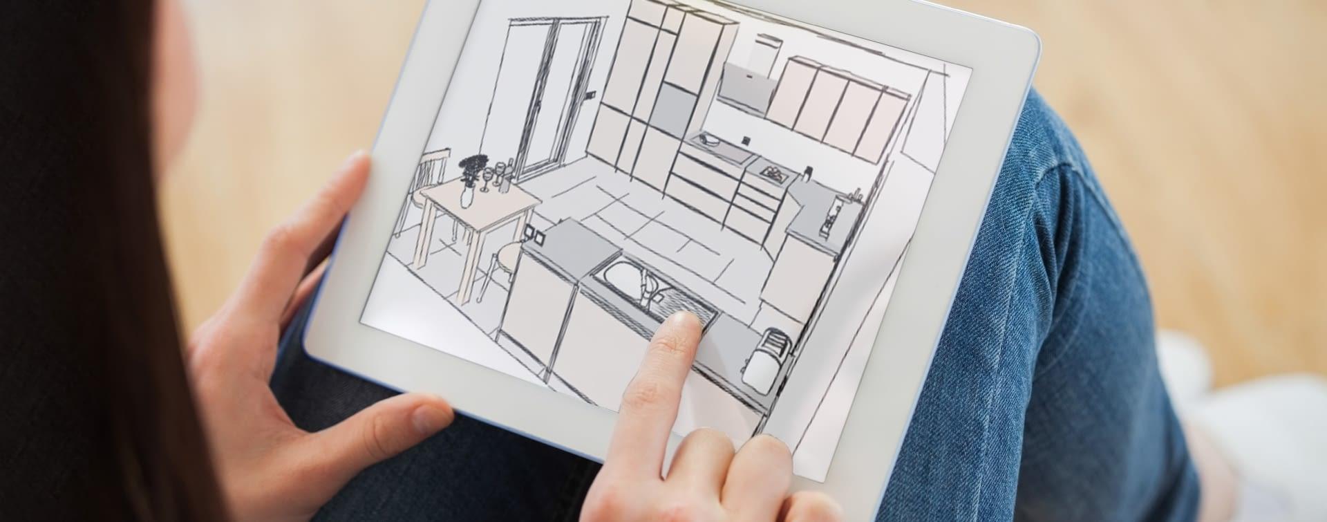 mit 3d k chenplaner die k chenplanung leicht gemacht. Black Bedroom Furniture Sets. Home Design Ideas