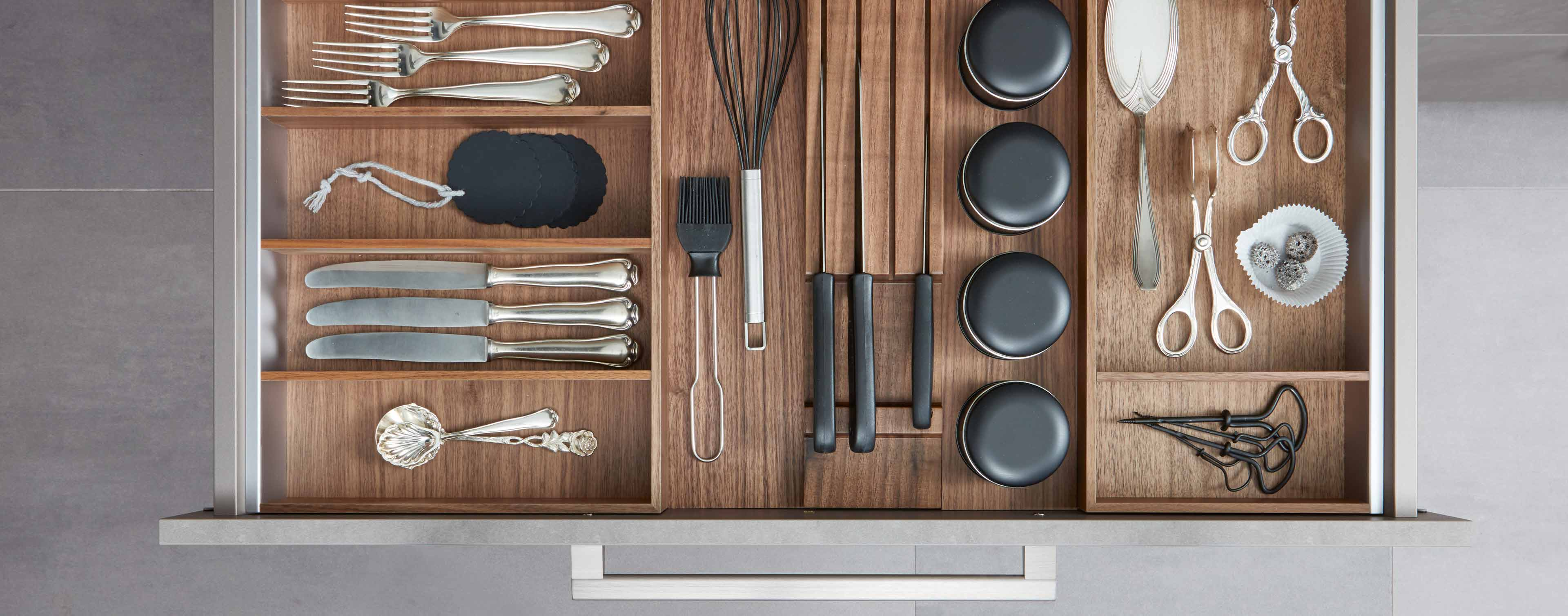 Küche Schublade Organisation