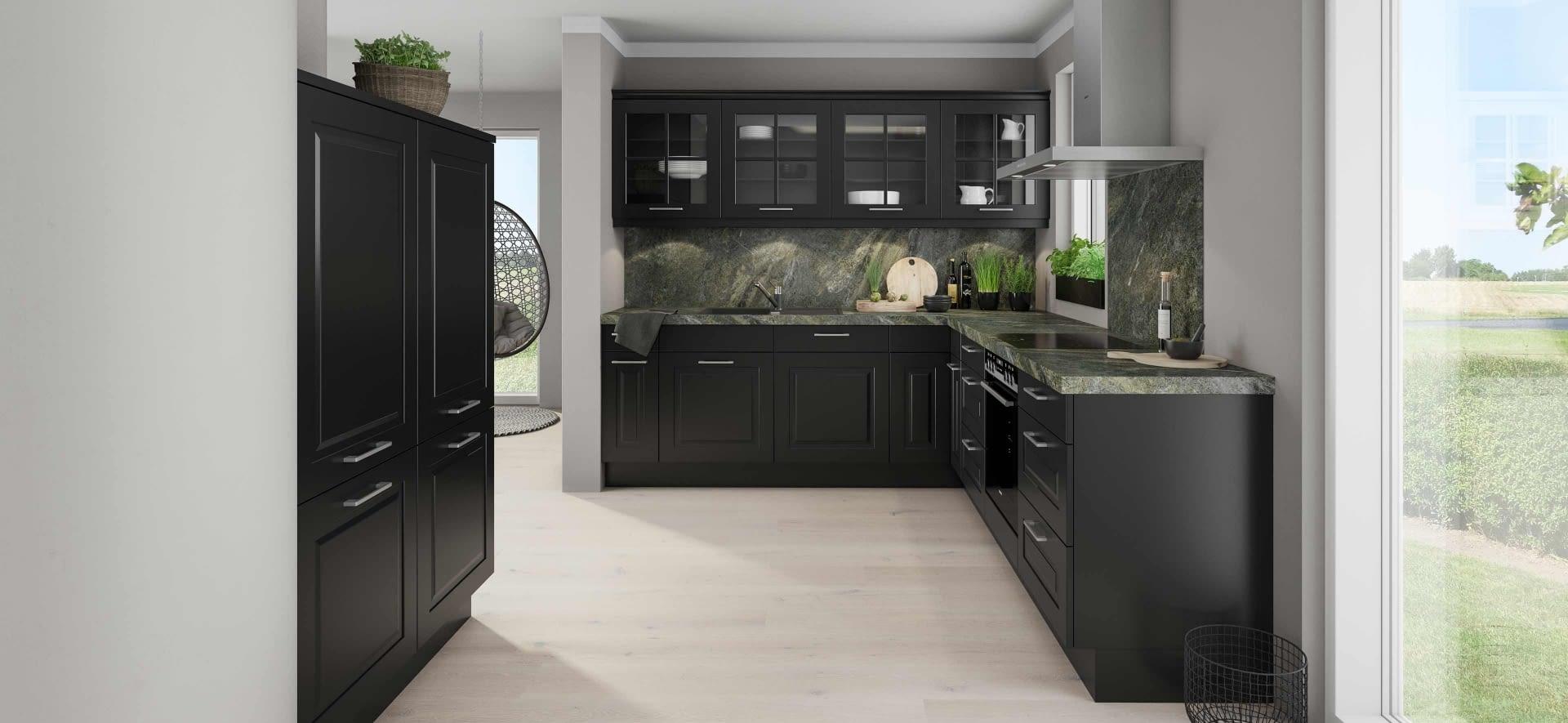 aktionsk che komfort siemens marquardt k chen. Black Bedroom Furniture Sets. Home Design Ideas