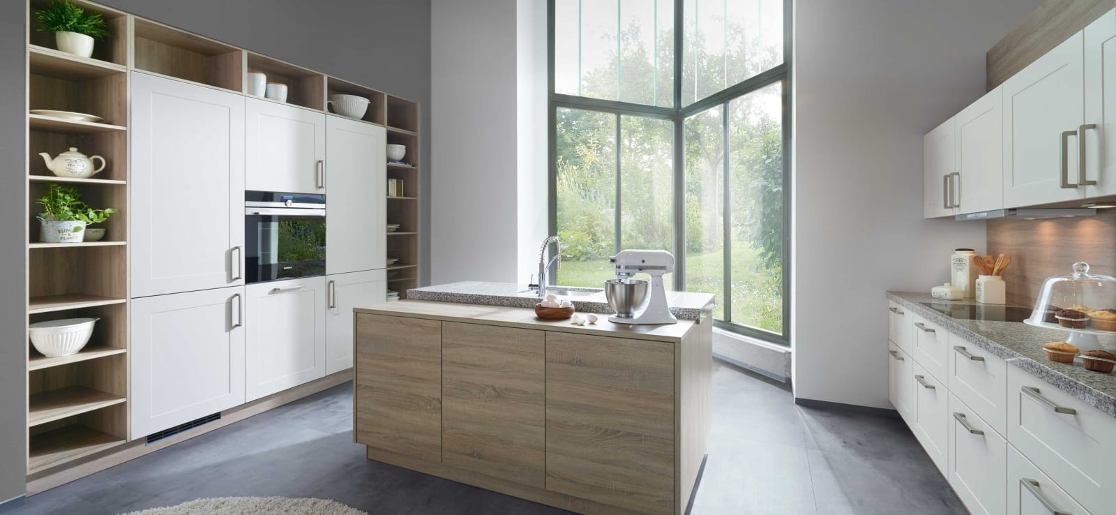 landhausk che inselk che venta magnolia und kansas oak mit rosa beta marquardt k chen. Black Bedroom Furniture Sets. Home Design Ideas
