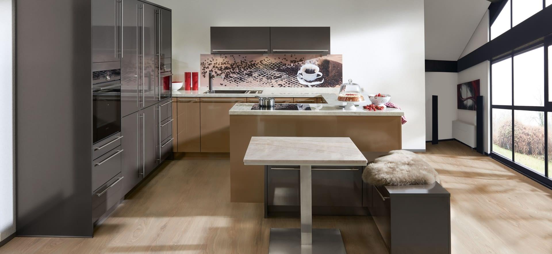 klassische u k che glanzquarzgold mit taj mahal marquardt k chen. Black Bedroom Furniture Sets. Home Design Ideas