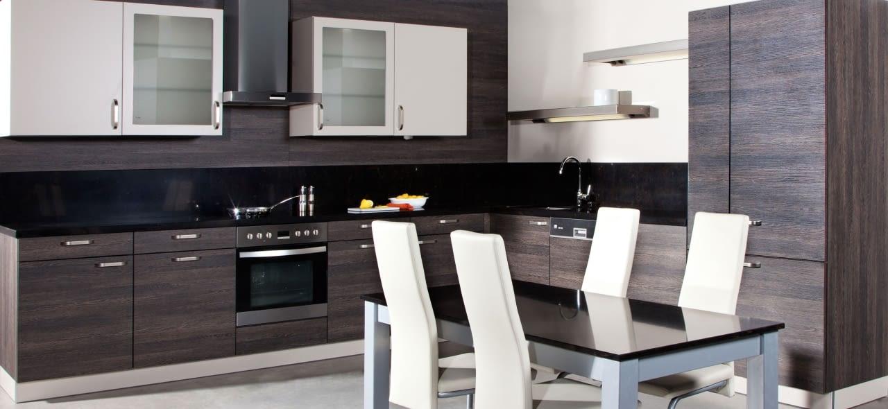 l k che goldeiche champagner mit art. Black Bedroom Furniture Sets. Home Design Ideas