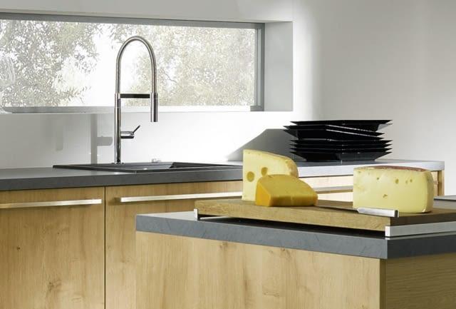 2 zeilen in manhattan chalet eiche mit cemento molino. Black Bedroom Furniture Sets. Home Design Ideas