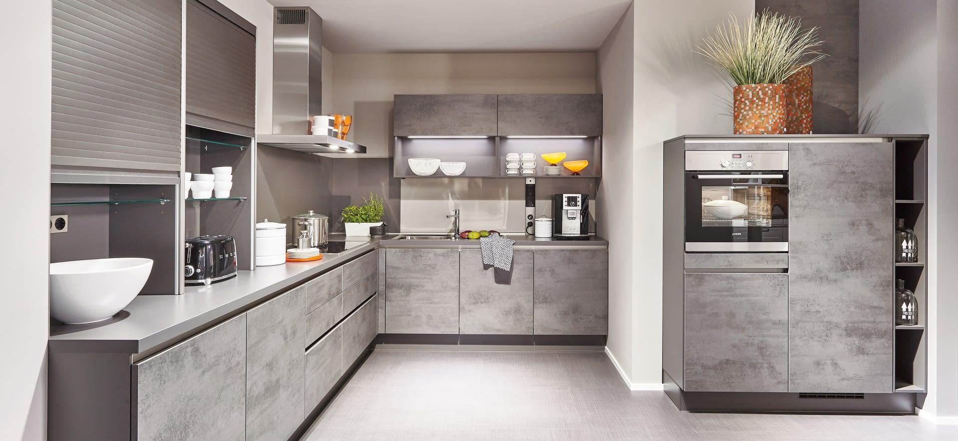 Designkuche Riva Beton Mit Cemento Molino Marquardt Kuchen