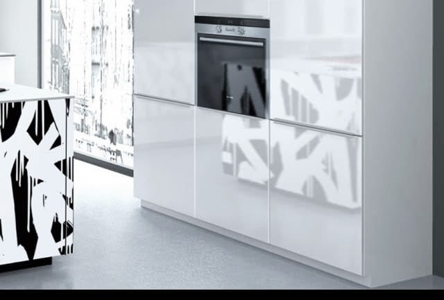 moderne inselk che nolte neo mit quarzstein blanco zeus. Black Bedroom Furniture Sets. Home Design Ideas