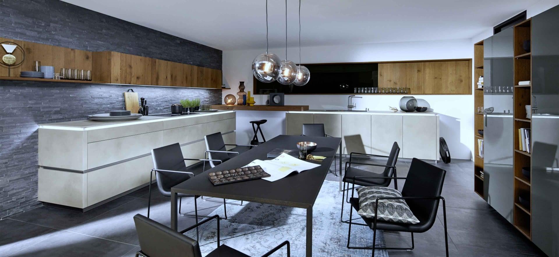 designk che zement achatgrau mit gris molino marquardt k chen. Black Bedroom Furniture Sets. Home Design Ideas