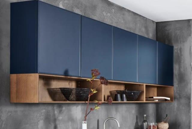 Design Küche in Tiefblau Softmatt - Marquardt Küchen
