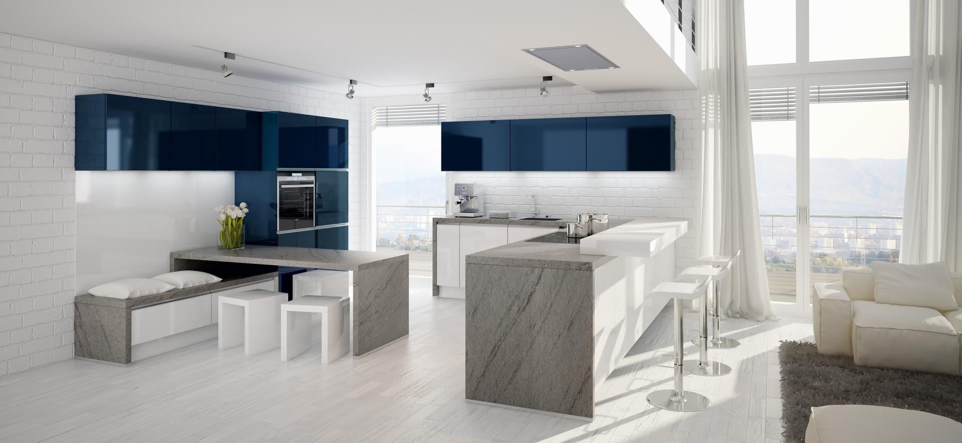u k che trend lack wei mit duke white. Black Bedroom Furniture Sets. Home Design Ideas