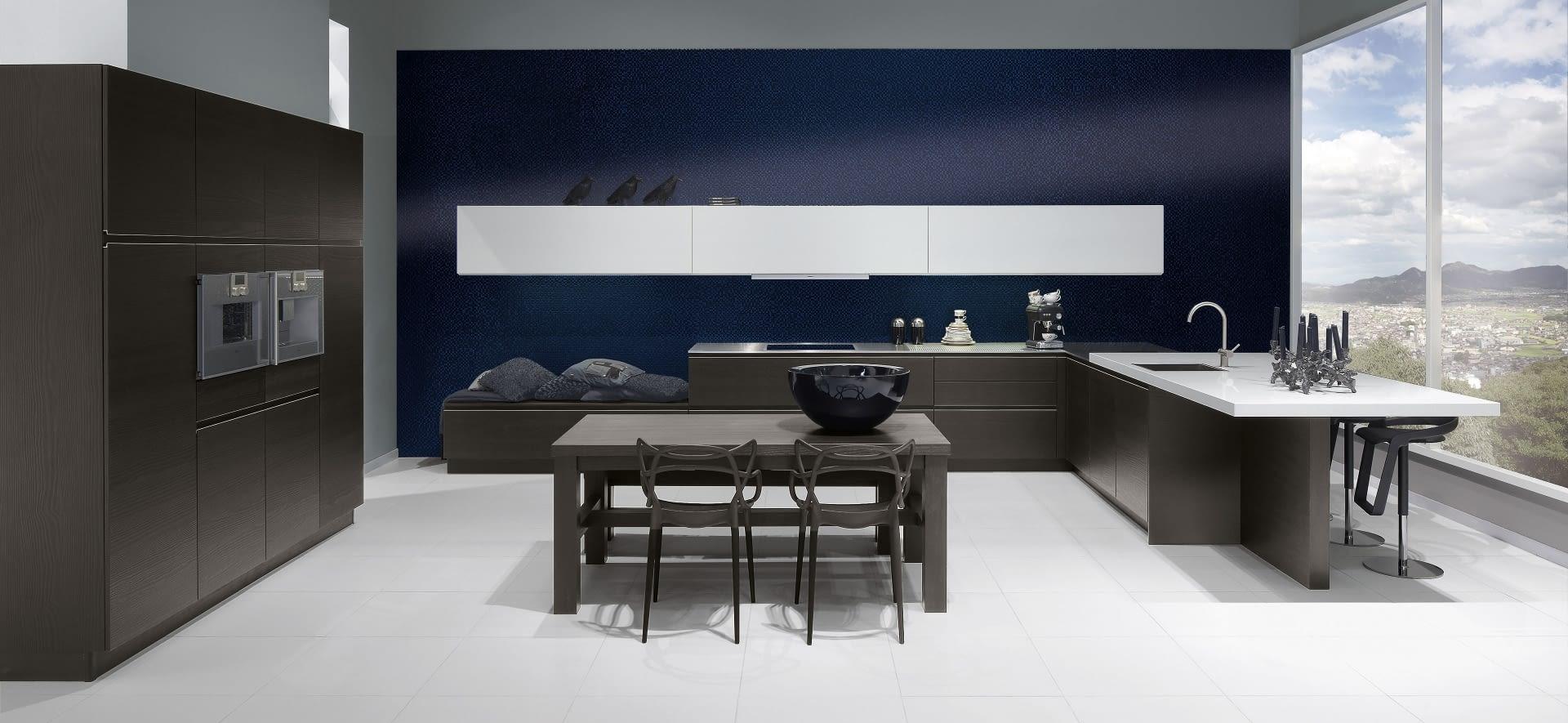 u k che pinie schwarzbraun mit zenith. Black Bedroom Furniture Sets. Home Design Ideas