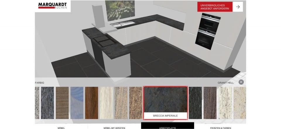Küchenplaner 3D-App - Marquardt Küchen