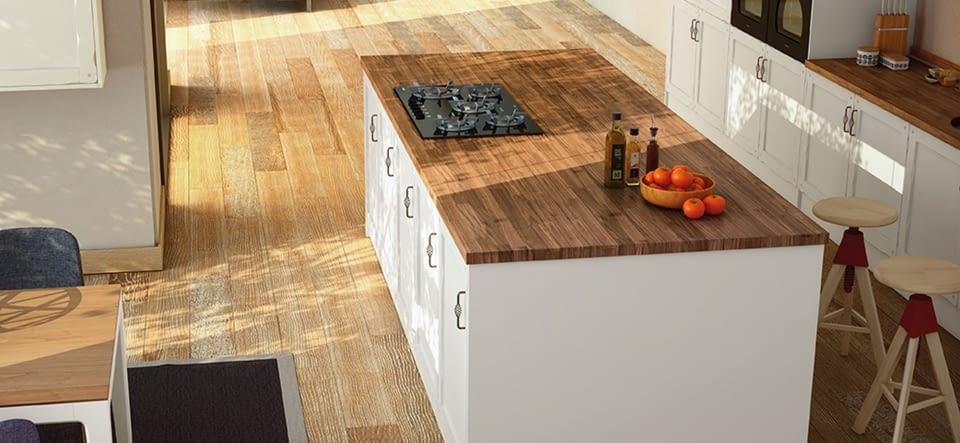 Küchenarbeitsplatte echtholz  Arbeitsplatten aus Quarz, Edelstahl und Glas – Marquardt Küchen